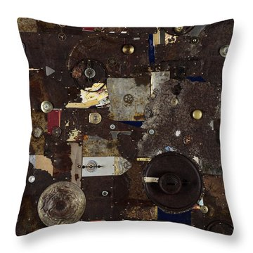 Remains To Be Seen Throw Pillow