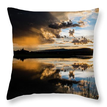 Remains Untrusted Throw Pillow