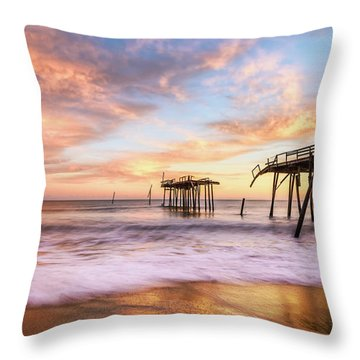 Remanants Throw Pillow