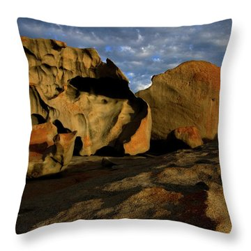 Remarkable Throw Pillow by Mike Dawson