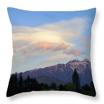 The Remarkables Throw Pillow