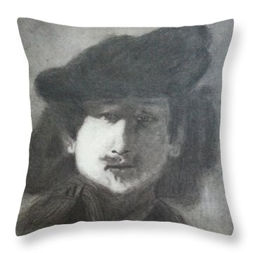 Rembrandt Throw Pillow