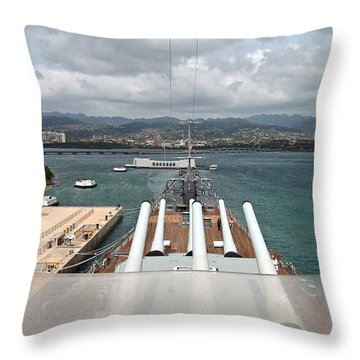 Remember 1941 Throw Pillow by Anthony Baatz