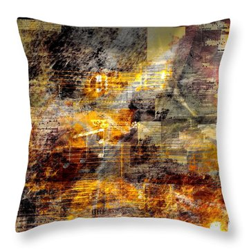 Remember A Song Throw Pillow
