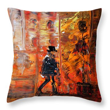 Remember By Colleen Ranney Throw Pillow