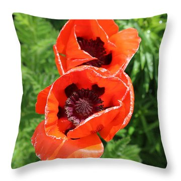 Remember Red 1 Throw Pillow
