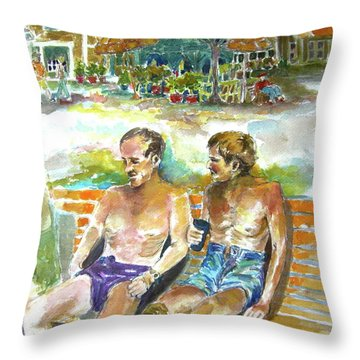 Remember The Day Throw Pillow