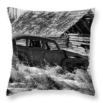 Throw Pillow featuring the photograph Remember The Past Work For The Future by Bob Christopher