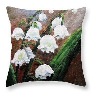 Remember The Scent Throw Pillow