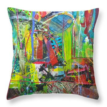 Remember The Soapbox Throw Pillow