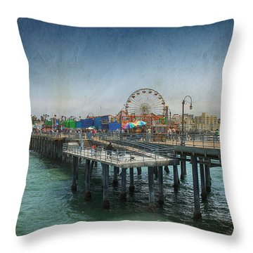 Remember Those Days Throw Pillow by Laurie Search