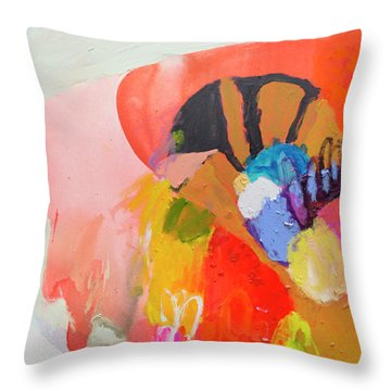 Remember To Feed The Fish Throw Pillow