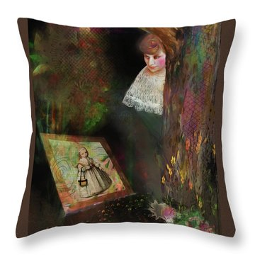 Remember When Throw Pillow
