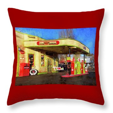 Remember When There Was Service Throw Pillow