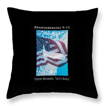 United Airlines Flight 93 Throw Pillows
