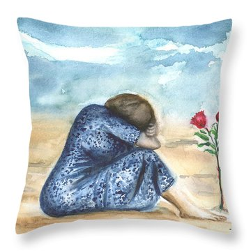 Remembering A Loved One Throw Pillow