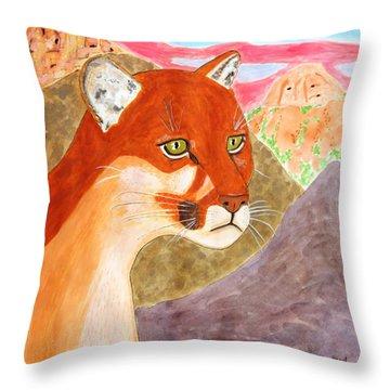 Remembering Big Bend Throw Pillow