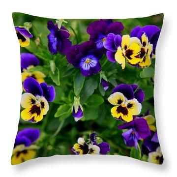 Remembering Grandma Throw Pillow by Karen Wiles