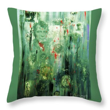 Remembering Kerouac Throw Pillow