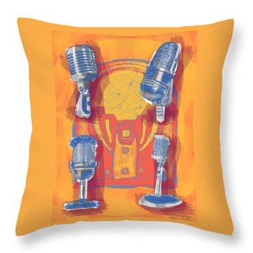 Remembering Radio Throw Pillow