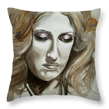 Remembering San Francisco Throw Pillow