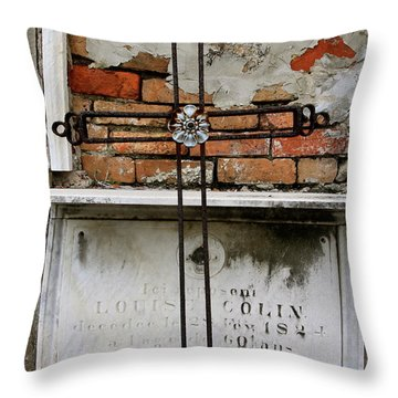 Remembering The Lost Throw Pillow