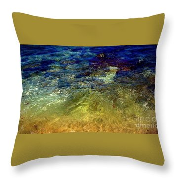 Throw Pillow featuring the digital art Remembering Vincent by Delona Seserman