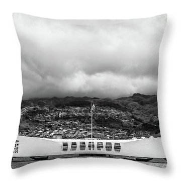 Throw Pillow featuring the photograph Remembrance by Colleen Coccia