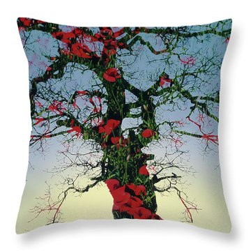 Remembrance Tree Throw Pillow
