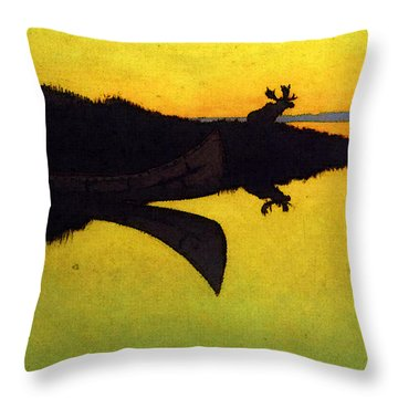 Remington Frederic Comming To The Call Throw Pillow