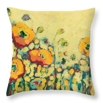 Reminiscing On A Summer Day Throw Pillow