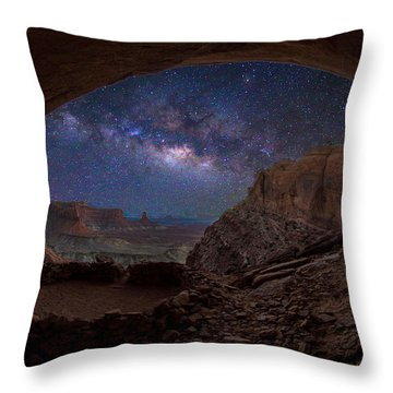 Remnants     -false Kiva Throw Pillow