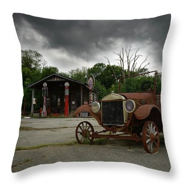 Throw Pillow featuring the photograph Remnants Of Yesterday by Renee Hardison