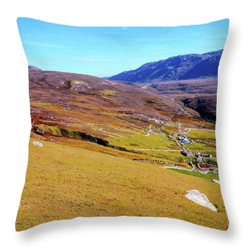 Remote Port - Donegal Ireland Throw Pillow