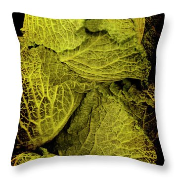 Renaissance Chinese Cabbage Throw Pillow