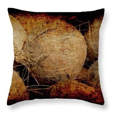Renaissance Coconut Throw Pillow