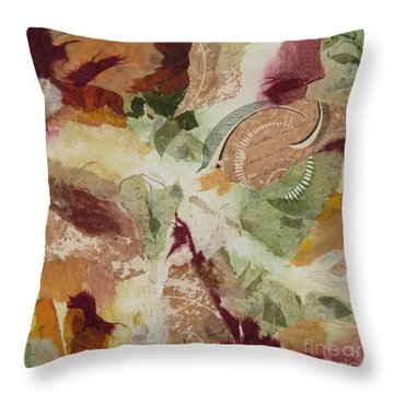 Renaissance Throw Pillow by Deborah Ronglien