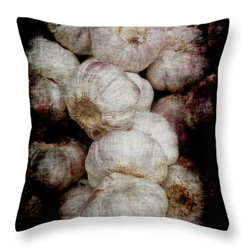 Renaissance Garlic Throw Pillow
