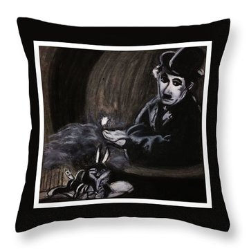 Renaissance Men Throw Pillow