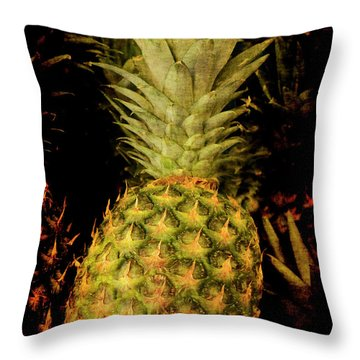 Renaissance Pineapple Throw Pillow