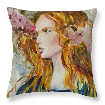 Renaissance Woman Throw Pillow