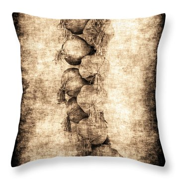 Renasiaance Garlic Throw Pillow