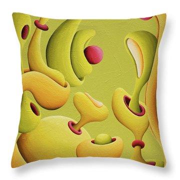 Renassansical Generation Jam Throw Pillow