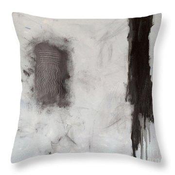 Rencontre Avec L'infini Throw Pillow