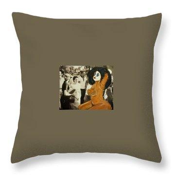 Renee Segregationist Throw Pillow by Deedee Williams