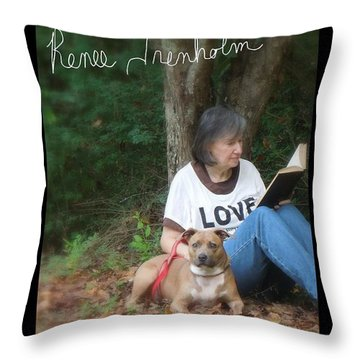 Renee Trenholm . Signed Throw Pillow