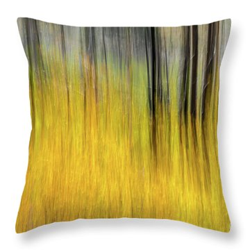 Renewal Abstract Art By Kaylyn Franks Throw Pillow