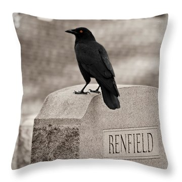 Renfield Throw Pillow