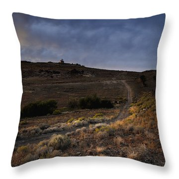 Reno Sunset Throw Pillow