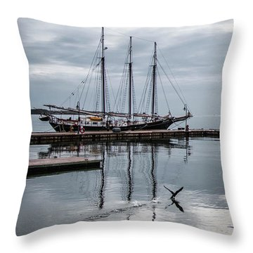 Rent Reflection Throw Pillow